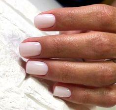 nails pink and white \ nails pink . nails pink and white . nails pink and black . nails pink and blue . nails pink and gold Shellac Colors, Nail Polish Colors, Nail Colors For Pale Skin, Pedicure Colors, Pedicure Ideas, Cute Nail Colors, Neutral Colors, Pedicure Designs, Sns Colors