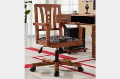 Oriental Style Office Chair - MelodyHome.com
