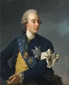 Portrait de Gustave III de Suède, Alexander Roslin