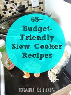 65+ slow cooker recipes for any occasion — Frugal Debt Free Life - Limitless Life on a Limited Budget #slowcooker #crockpot