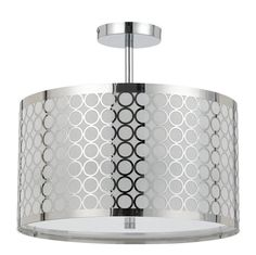 Buy the Cal Lighting Chrome Direct. Shop for the Cal Lighting Chrome Madrid 3 Light Semi-Flush Mount Ceiling Fixture and save. Modern Light Fixtures, Ceiling Light Fixtures, Modern Lighting, Ceiling Lights, Lighting Direct, Room Lights, Ceiling Fans, String Lights, Lighting Design