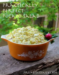 Practically perfect potato salad with some tips on making it your own | Fresh Bites Daily