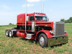 Peterbilt Big Rig Trucks, Semi Trucks, Cool Trucks, Rolling Coal, Peterbilt 359, Peterbilt Trucks, Custom Big Rigs, Custom Trucks, Cab Over