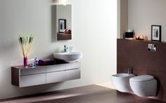 Kolo Double Vanity, Toilet, Bathroom, Modern, Design, Environment, Washroom, Flush Toilet, Trendy Tree