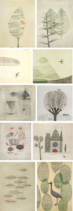 Not too much is known about Japanese painter and print maker, Keiko Minami. Orphaned at a young age she expressed an early interest in art and poetry. She studied aquatint etching in Paris where ma…