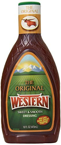 Wish-Bone The Original Western Salad Dressing 16oz Bottle (Pack of 6) ** Remarkable product available  : Dinner Ingredients