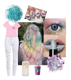 """""""Unicorn frap"""" by emma-rose-tokach on Polyvore featuring beauty, The Gypsy Shrine and ban.do"""