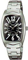 Casio LTP1208D-1B Femme Montre Casio Vintage, Gadget Watches, Rolex Watches, Wrist Watches, Casio Watch, Quartz, Steel, Crystals, Bracelets