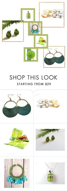"""""""Summer Brights"""" by fibernique ❤ liked on Polyvore"""