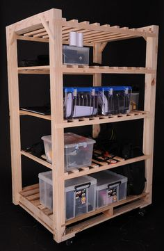 Pallet Shelf By Jonas Design Garage Or Storage Room