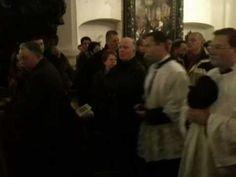 Archbischop LEONARD - Pontifical Tridentine Traditional Latin Mass - Bru...