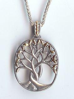 Tree of Life or Sacred Tree Pendant