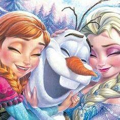 "2,080 curtidas, 4 comentários - disneyladies (@princess_disney_everything) no Instagram: ""#Repost @sun_and_snow_queens_ (@get_repost) ・・・ . . Hugs ❤️ . #elsa #disney #frozen #olaf from…"""