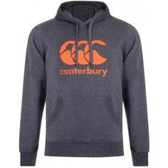 Classic Logo Hoody Dark Grey - from Canterbury UK