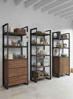 Boekenkasten Fendy geven een erg moderne uitstraling. #modern #inspiration #interior