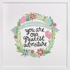 Greatest Adventure by Alethea and Ruth at minted.com