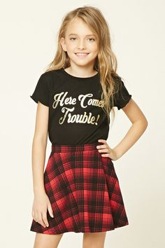 Girls Trouble Tee (Kids)