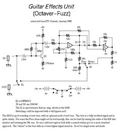 icu ~ Guitar Circuits and Schematics: Fuzzi, Amps and other Effects ekkor: 2019 ~ jún. - Guitar Circuits and Schematics: Fuzzi, Amps and other Effects Electronic Circuit Projects, Electronic Engineering, Guitar Effects Pedals, Guitar Pedals, Diy Guitar Pedal, Computer Love, Diy Amplifier, Electronics Basics, Headphone Amp
