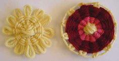 Métiers Fleur Un tisser: Tisses de Fleurs de Divers taille et en forme Métiers - juin Galerie Mini