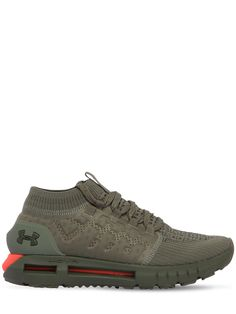 Under Armour Hovr Phantom Running Sneakers In Army Green Popular Sneakers, Best Sneakers, Running Sneakers, Shoes Sneakers, Adidas Shoes Women, Men S Shoes, Dr. Martens, Large Men Fashion, Palladium