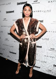 Tamara Taylor Photos Photos: Entertainment Weekly Celebrates the SAG Award Nominees at Chateau MarmontSsponsored by Maybelline New York - Arrivals Maxim Roy, Tamara Taylor, Chateau Marmont, January 28, Sag Awards, Entertainment Weekly, Red Carpet Dresses, Maybelline, Bones