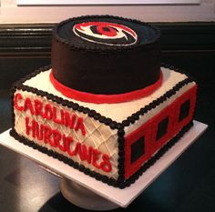 Carolina Hurricanes Groom's Cake