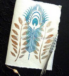 Bunte abstrakte Journal Taschenbuch Notebook von shelikesthis