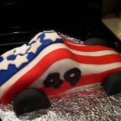 Pinewood Derby Cake!