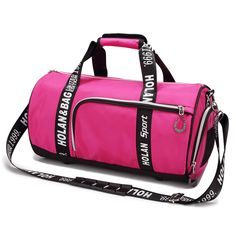 0d58f8849c UBORSE Duffel Gym Bag with Shoes Compartment Sports Bag Ventilated Workout  Bag Travel Barrel Weekend Luggage