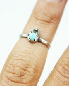 Turquoise Knuckle Ring