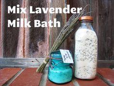 Mix Lavender Milk Bath