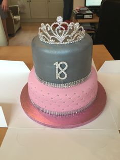 Girls 18th birthday cake…