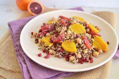 Quinoa, Beet, and Blood Orange Salad Recipe from @Samantha Ferraro