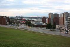 https://flic.kr/p/LMRk4N | Halifax, Nova Scotia | View of the downtown from Citadel Hill in Halifax, Nova Scotia, Canada.