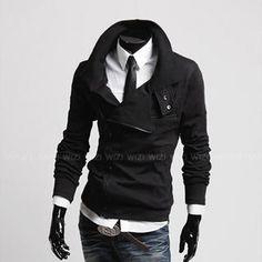 Asymmetric Zipup Jacket from #YesStyle <3 WIZIKOREA YesStyle.com