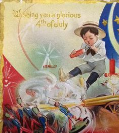 """""""The coming stupendous holocaust, caused by the sky-rocket, the giant fire cracker and the toy pistol, that leaves an annual trail of disaster following the glorious 4th of July celebrations, is a subject for our serious consideration.""""—Editorial, Pediatrics, Vol. 22, No. 6, June 1910"""