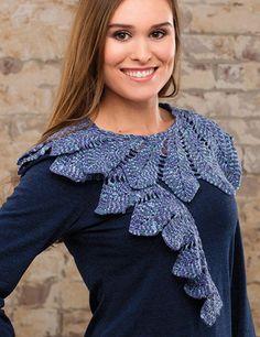 Women's scarf crochet pattern