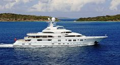 Yacht TV - Underway in the Caribbean Lurssen Yachts, Remo, Floating House, Yacht Boat, Night Photos, Train Car, Speed Boats, Luxury Yachts, Catamaran