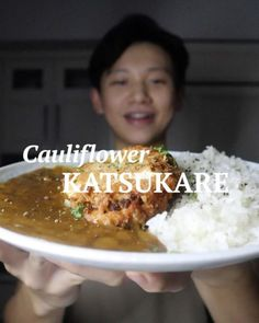 Cauliflower Steaks, Cauliflower Curry, Asian Cooking, Cooking Time, Japanese Curry, Best Dishes, Vegan Foods, Plant Based Diet, Asian Recipes