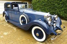 1934 Rolls-Royce Phantom II Limousine De Ville By Gurney Nutting