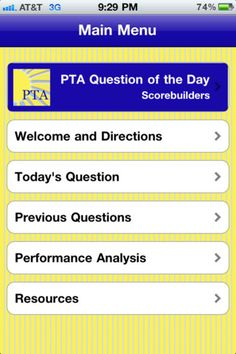physical therapist assistant question of the day iphone and ipad app by scorebuilders genre