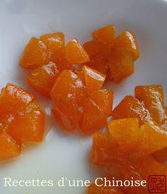 Recettes d'une Chinoise: Kumquats confits 蜜金桔 mì jīnjú