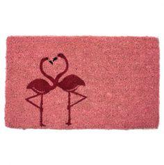 Flamingos door mat. I must have this