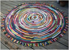 70 inch Rag Rug | Flickr - Photo Sharing!