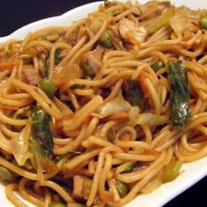 Chicken Lo Mein With Vegetables