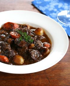 Boeuf Bourgignon.  The master of all stews, with a couple of twists for ultimate flavor. #stew #beef daringgourmet.com