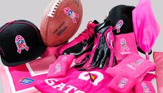 NFL Pink for Breast cancer awareness month