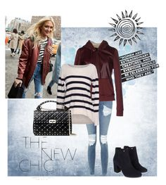 """""""The New Chic"""" by krgood7 ❤ liked on Polyvore featuring Topshop, Emmalucia, Velvet by Graham & Spencer, Monsoon and Valentino"""