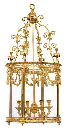 date unspecified A gilt-bronze chandelier, Louis XVI Estimate 120,000 — 180,000 EUR 143,134 - 214,700USD. unsold