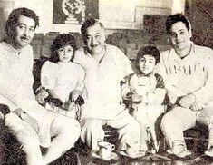 Randhir , Raj and Rajeev Rajiv Kapoor, Randhir Kapoor, Rishi Kapoor, Shammi Kapoor, National Film Awards, Lifetime Achievement Award, Vintage Bollywood, The Greatest Showman, Bollywood Actors